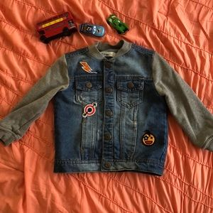 Epic Threads Jackets & Coats - Trendy Jean Jacket with Patches - Size 3T